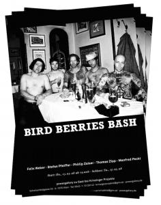 Bird Berries Bash / Krinzinger Projekte